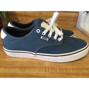 Vans Chima Ferguson Pro - Ashes Blue/White